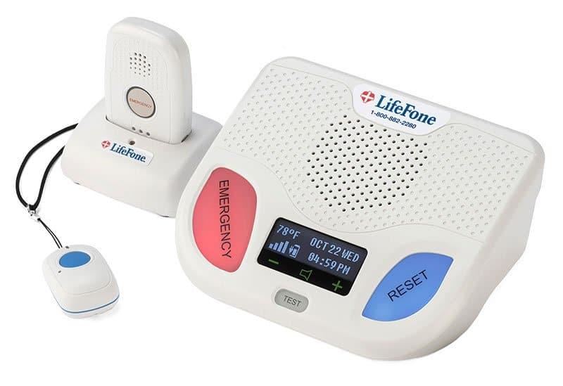 LifeFone Fall Detection Medical Alert System