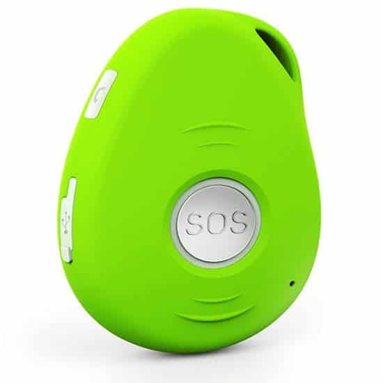 RescueTouch SOS medical alert in green.