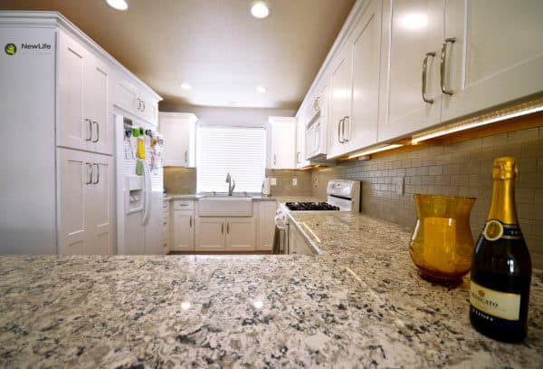 Lighting is especially important in an accessible kitchen.