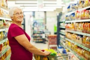 Senior discounts for grocery stores.