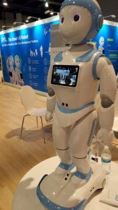 CES Showcases Tech For Seniors: Robots and Smart Canes 7
