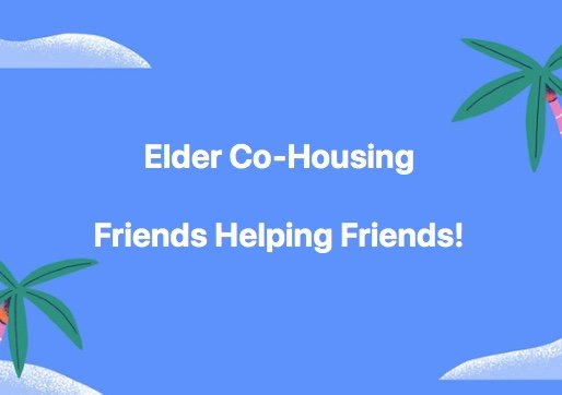 Elder Co-Housing Is More Than Living With Friends