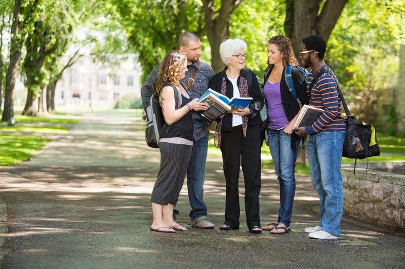 University based retirement communities