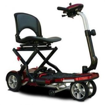 EV Rider transport Plus foldable scooter is a lightweight scooter for seniors.
