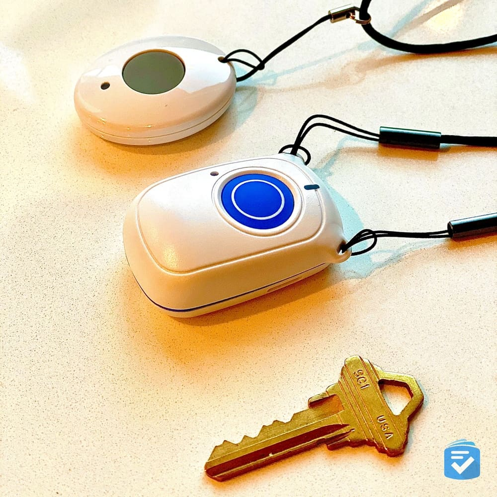ADT help button and the fall detection pendant