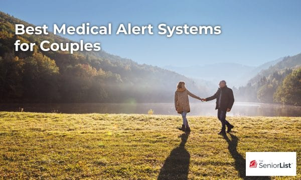 The best medical alert systems for couples are low cost or even free to add on a spouse.