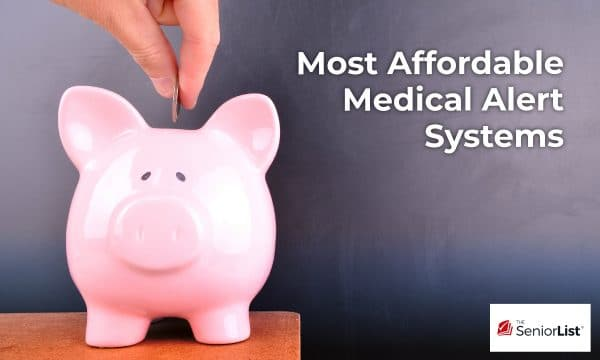 A list of the most affordable medical alert systems today.