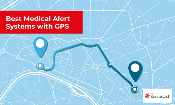 The best medical alert systems with GPS researched by The Senior List.com.