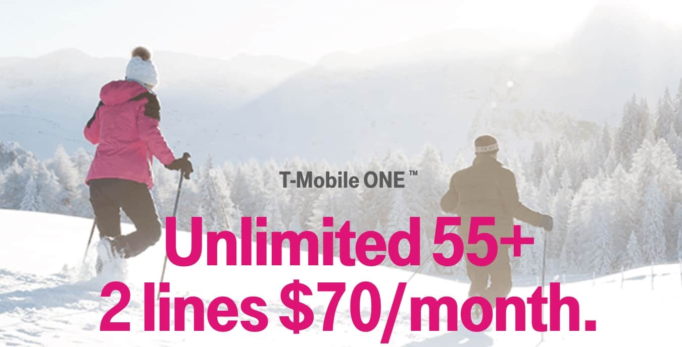 T-Mobile Senior Phone Plan