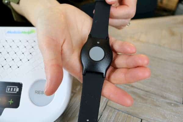 MobileHelp easy to use wrist button
