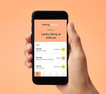Hero Medication Dispenser App