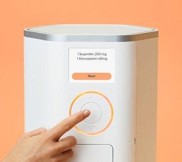 Hero Medication Dispenser Push Button