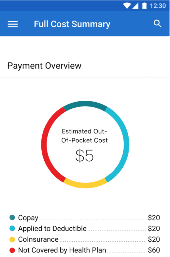 UnitedHealthcare App Payment Overview