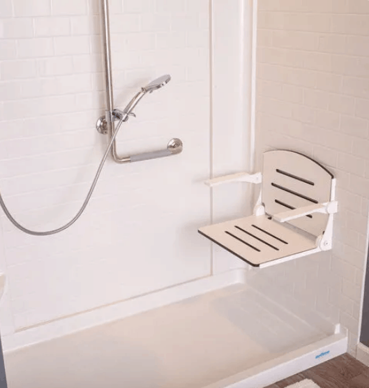 Safe Step Shower with Seat
