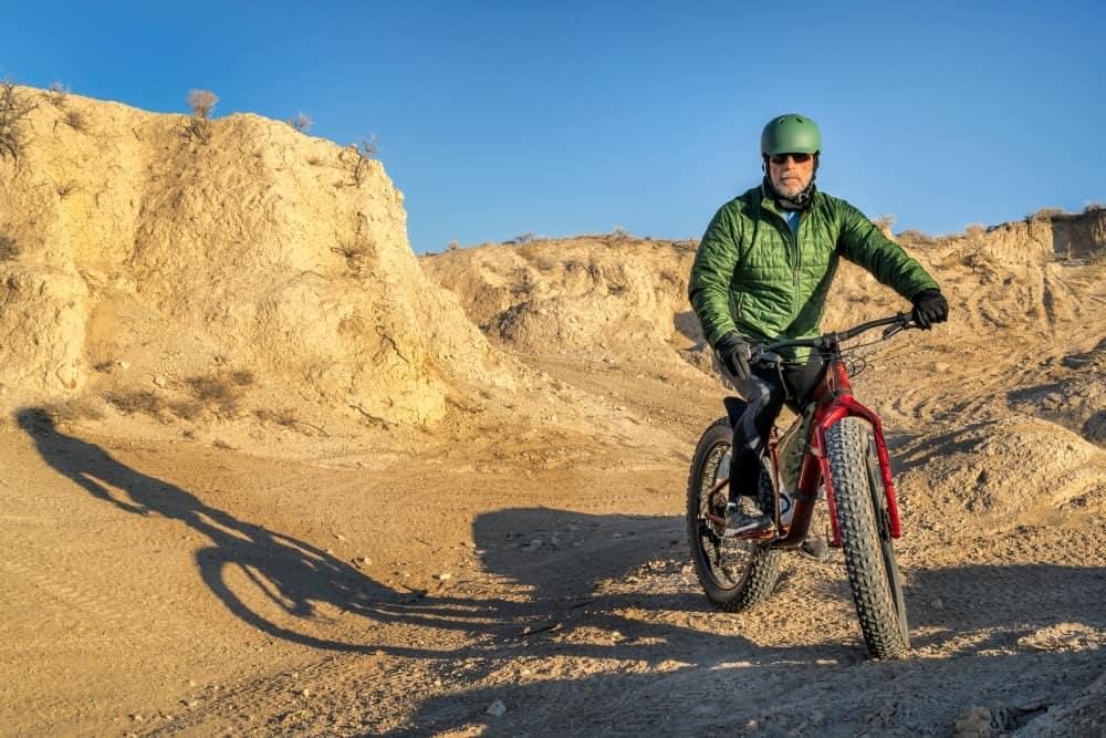 Biking in Badlands National Park