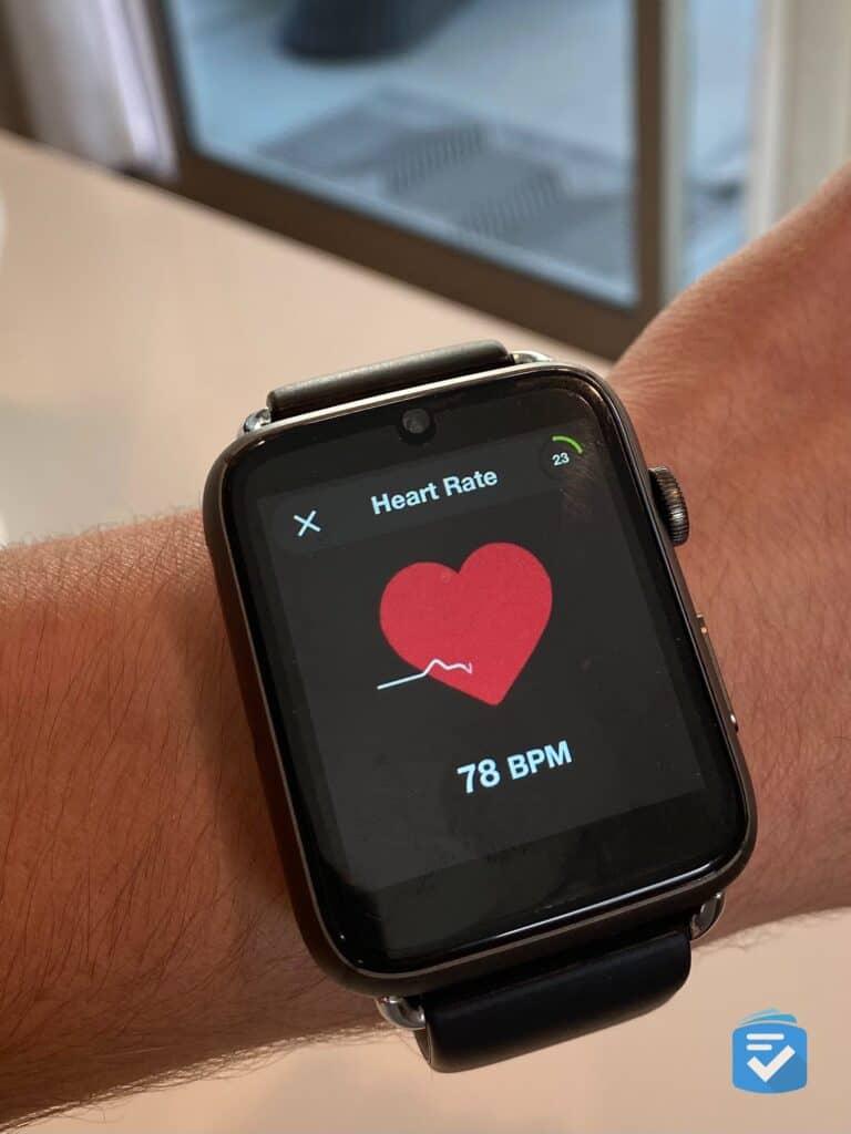 WellBe Smartwatch heart rate monitor