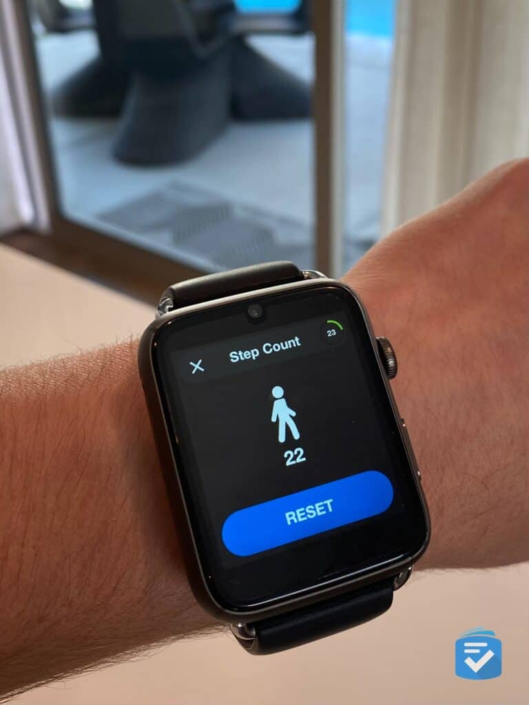 WellBe Smartwatch pedometer